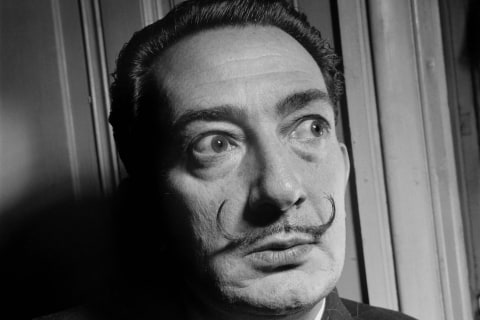 Exhumation of Salvador Dalí's Remains Finds His Mustache Still Intact