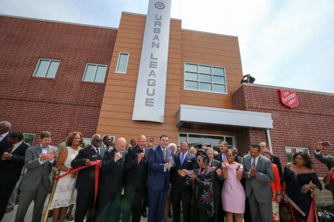Ferguson Community Center Opens, Once Site of Burned Gas Station