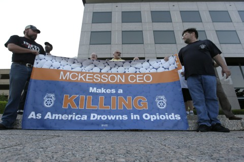 Union Protest Over Opioids Leads to Changes for Drug Wholesaler
