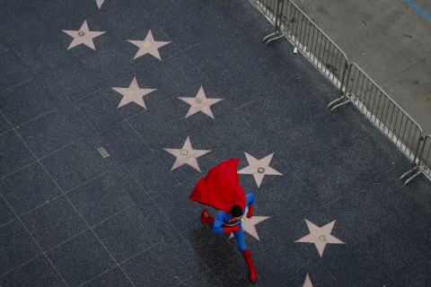 Superhero Costumes Keep Dreams Alive for Hollywood Hopefuls