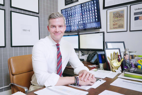 Ryan Serhant Designed His Office to Keep Him Hungry and Humble