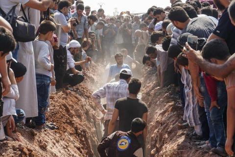 7 Medics With Syria's White Helmets Group Killed