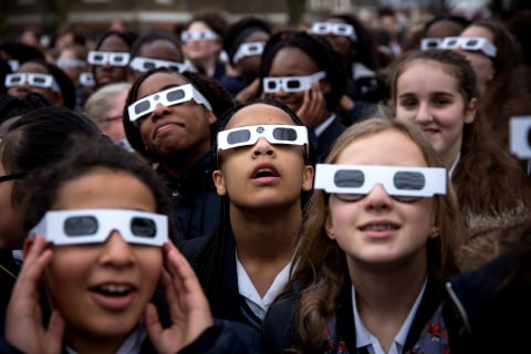 Forget Sunglasses: How to Keep Your Eyes Safe During the Solar Eclipse