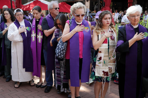 Mourners Honor Heather Heyer in Charlottesville