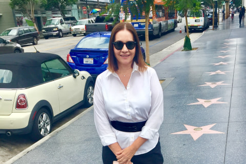 Meet the Latina Powerhouse Who Runs the Hollywood Walk of Fame