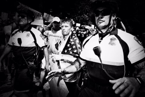 Boston Police Avoid Damage and Injuries During Rallies and Protests