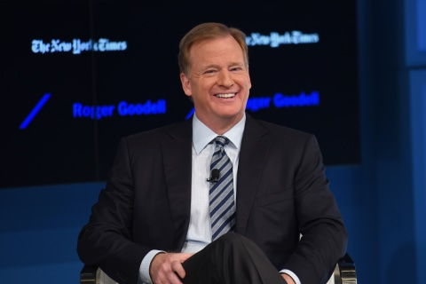 NFL's Commissioner Reportedly Set For Lengthy Contract Extension