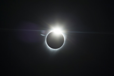 Total Solar Eclipse Carves Its Path Across the U.S.