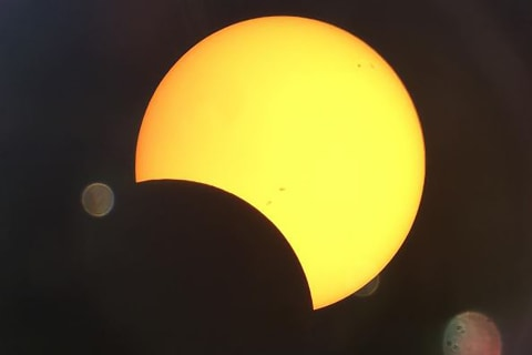 Spectacular Photos of the Eclipse Captured by Viewers Across the Country
