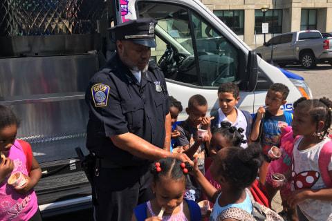 Boston Police Use Ice Cream to Improve Community Relations