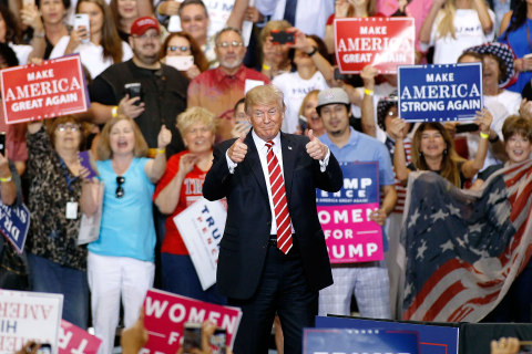 Trump Returns to Campaign Mode — and Lashes Out