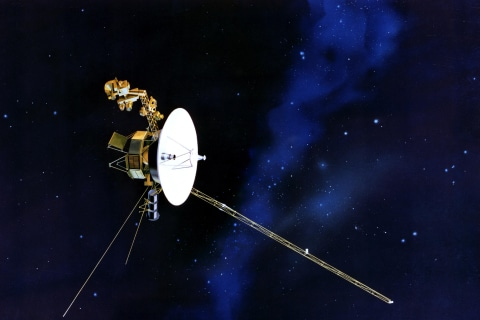 Voyager 1, Our Most Far-Flung Spacecraft, Marks 40 Years in Space