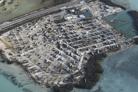 Irma-Smashed Florida Keys Re-Opening to Visitors Next Week