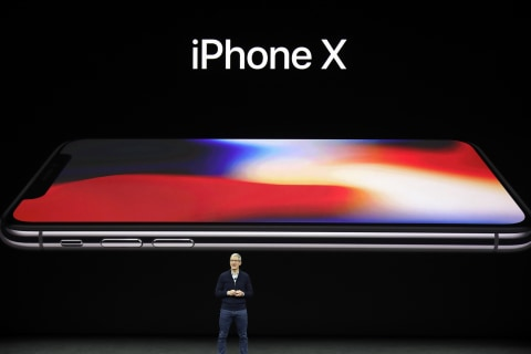 Is Apple's iPhone X to blame for its post-holiday stock slump?