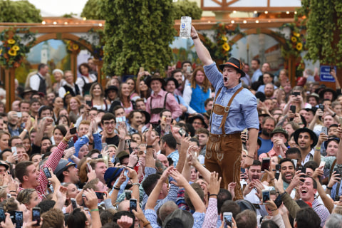 Oktoberfest Plastered With Millions of Happy Germans, Tourists