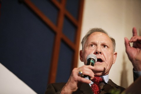'Homosexual Conduct Should Be Illegal,' Roy Moore Said in '05 Interview