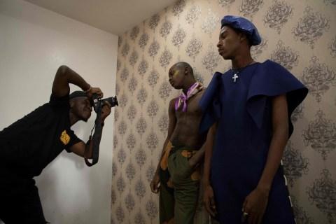 Nigerian Fashion Magazine Stirs Debate About Men in Skirts
