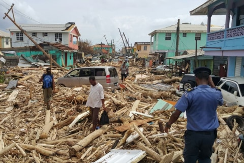 Hurricane Maria Damages Dominica's Main Hospital, Leaves 'War Zone' Conditions