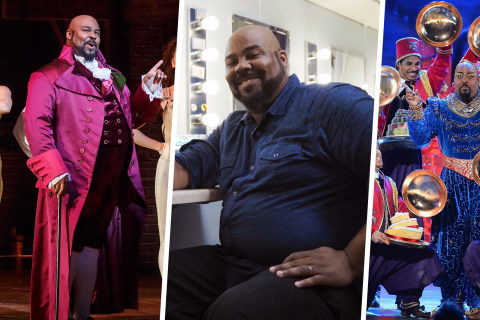 Inside the Dressing Room (and Mind) of Hamilton's James Monroe Iglehart