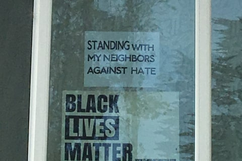 Asian-American Family Threatened After Displaying Black Lives Matter Sign