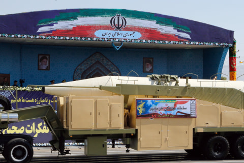 Iran Tests New Ballistic Missile, State Media Reports