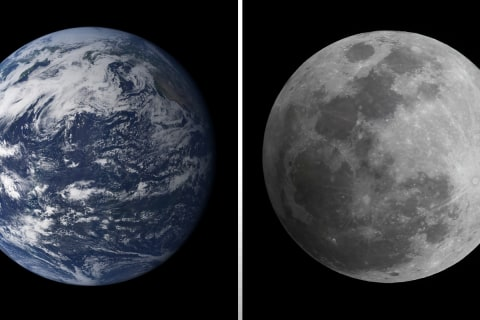 New Photo Shows the Moon May Be Farther Away Than You Think
