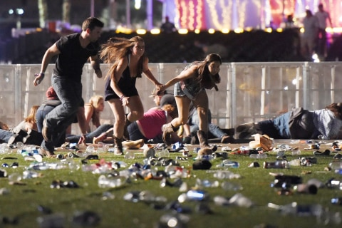 Las Vegas Shooting: 59 Killed and More Than 500 Hurt Near Mandalay Bay