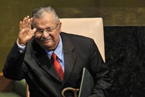 Kurdish Ex-President of Iraq, Jalal Talabani, Dies in Germany Aged 83