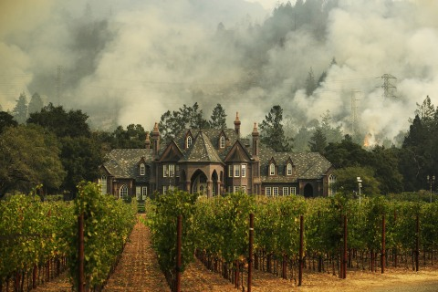 Wine Country Business Owners Worry Wildfires Will Keep Tourists Away