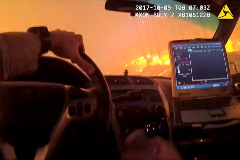 'Scared Beyond Reason': A Sergeant Braves Northern California Wildfire