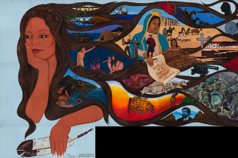 Renowned Chicana Muralist Barbara Carrasco's Landmark Piece Is Finally 'Uncensored'