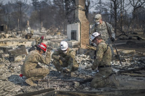 Firefighters Stop Spread of Some Large Fires in California
