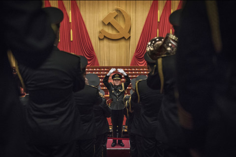 China's Party Congress: Grand Scenes and Tiny Moments in Beijing