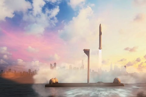 Elon Musk's Wild Idea for City-to-City Rockets Just Might Work