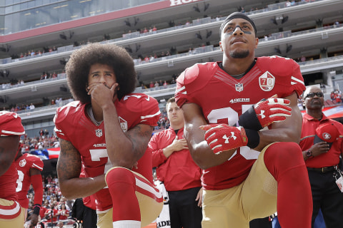 NFL Smart Not to Enforce Standing During National Anthem