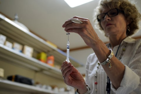 Vaccine rates are up, but so are refusals