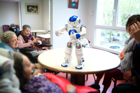 Can These Little Robots Ease the Big Eldercare Crunch?