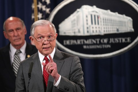 Trump's Victory — One Year Later: Sessions Remakes Justice Department