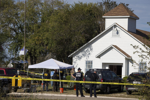Texas Church Shooting: More Than Two Dozen Parishioners Killed