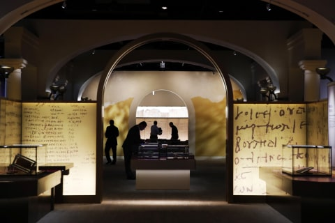 Museum of the Bible says five Dead Sea Scroll fragments may be fakes