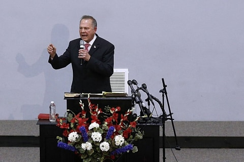 The unbearable hypocrisy of Roy Moore's Christian rhetoric