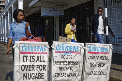Robert Mugabe addresses Zimbabwe after ruling party cuts ties — does not resign