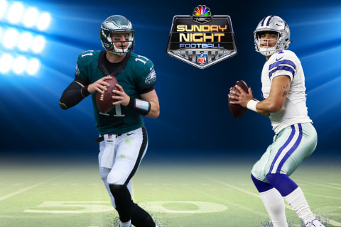 Watch live: Cowboys host Eagles on Sunday Night Football