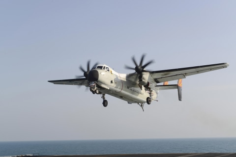 U.S. Navy plane with 11 aboard crashes into sea off Japan; 8 found alive