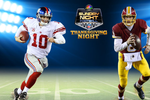 Watch live: Thanksgiving showdown between Giants and Redskins