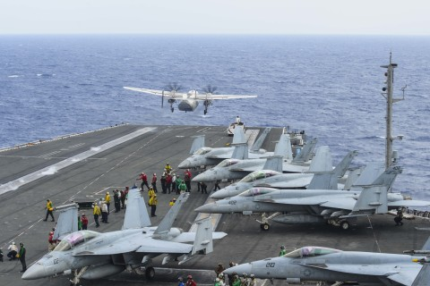 Navy ends rescue effort for 3 sailors missing after plane crash