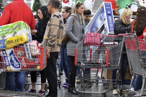 Family fun? How Black Friday became more about the 'sport' than the sales