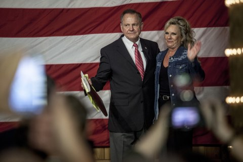Mystery money floods Alabama in Senate race's final days