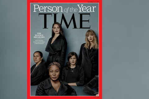 Time's person of the year is 'The Silence Breakers' of #MeToo movement