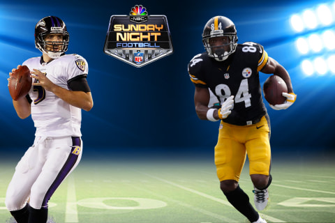 SNF on NBC: Baltimore Ravens vs. Pittsburgh Steelers